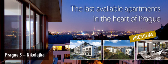The last available luxury apartments in the heart of Prague