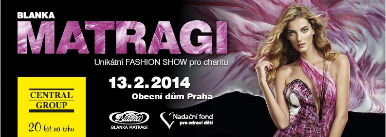 7de766d6c2c3 Blanka Matragi new fashion show - O akci