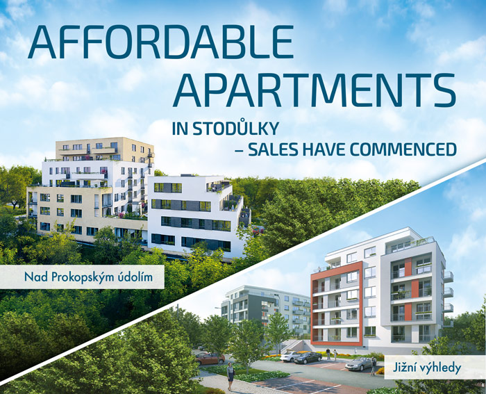 AFFORDABLE APARTMENTS IN STODŮLKY