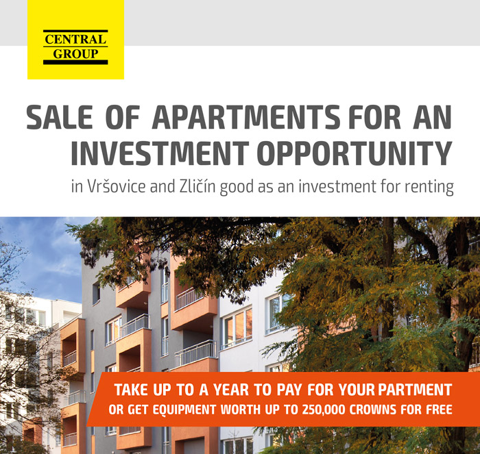 Sale of apartments for an investment opportunity