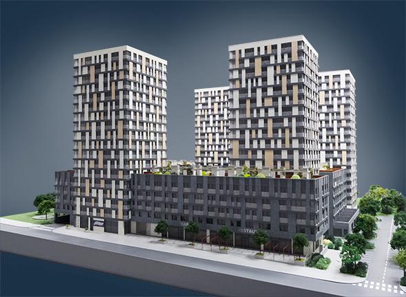 New Apartments In Prague 3 Žižkov Residence Garden