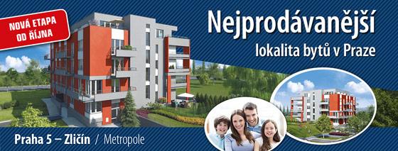 Nejprodávanější lokalita bytů v Praze