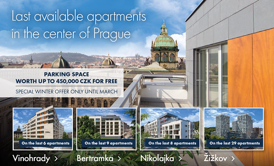Last available apartment in the cener of Prague